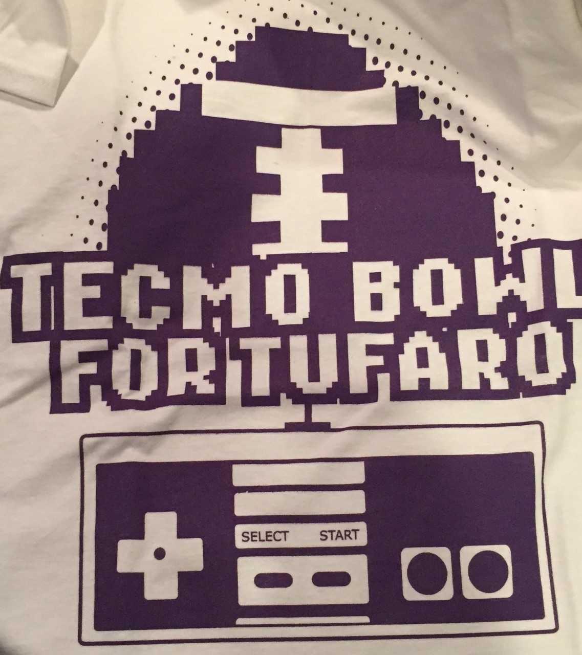 Woodbridge Tecmo Bowl For Tufaro Foundation Scores